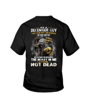THE BEAST IN ME - DECEMBER GUY Youth T-Shirt thumbnail
