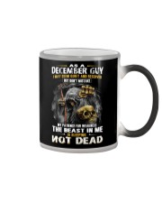 THE BEAST IN ME - DECEMBER GUY Color Changing Mug thumbnail