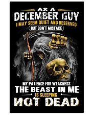THE BEAST IN ME - DECEMBER GUY 11x17 Poster thumbnail