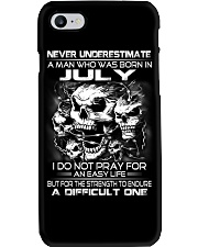 NEVER UNDERESTIMATE - A JULY MAN Phone Case thumbnail