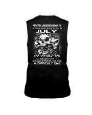 NEVER UNDERESTIMATE - A JULY MAN Sleeveless Tee thumbnail