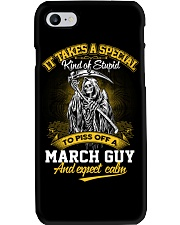 TO PISS OFF A - MARCH GUY Phone Case thumbnail