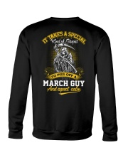 TO PISS OFF A - MARCH GUY Crewneck Sweatshirt thumbnail