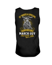 TO PISS OFF A - MARCH GUY Unisex Tank thumbnail