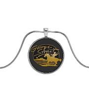 georrgr 3 Metallic Circle Necklace thumbnail