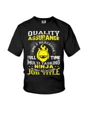 QUALITY ASSURANCE Youth T-Shirt thumbnail