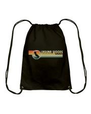California Vintage  Style LAGUNA WOODS CA Drawstring Bag thumbnail
