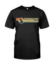 California Vintage  Style PARAMOUNT CA Classic T-Shirt front