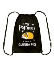 My Patronus is a Guinea Pig Drawstring Bag thumbnail