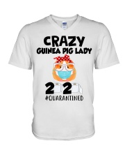 Guinea Pig Love V-Neck T-Shirt thumbnail