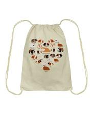GUINEA PIG LOVE Drawstring Bag thumbnail