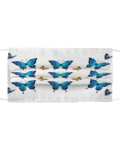 adorable flying butterflies