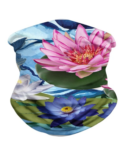 water lilies Mask