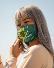 just a girl who loves sunflowers Cloth face mask aos-face-mask-lifestyle-20