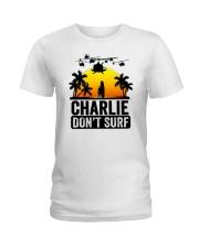 Charlie Dont Surf Ladies T-Shirt thumbnail