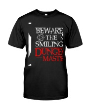 The Smiling Dungeon Master Classic T-Shirt front