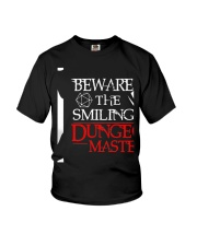 The Smiling Dungeon Master Youth T-Shirt thumbnail