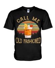 Call Me Old Fashioned V-Neck T-Shirt thumbnail