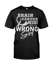 Brain Cancer Classic T-Shirt front