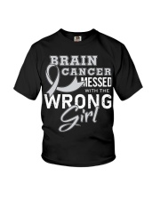 Brain Cancer Youth T-Shirt tile