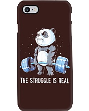 Weight Lifting The Struggle Phone Case thumbnail