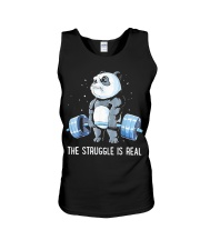 Weight Lifting The Struggle Unisex Tank thumbnail