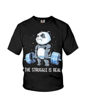 Weight Lifting The Struggle Youth T-Shirt thumbnail