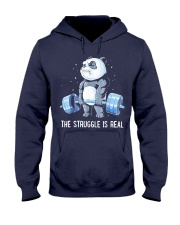 Weight Lifting The Struggle Hooded Sweatshirt thumbnail
