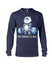 Weight Lifting The Struggle Long Sleeve Tee thumbnail