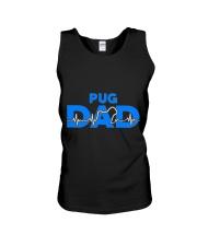 Pug Dad Unisex Tank thumbnail