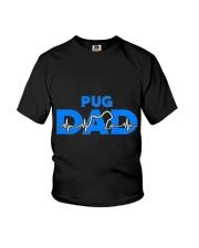 Pug Dad Youth T-Shirt thumbnail