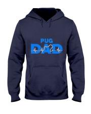 Pug Dad Hooded Sweatshirt thumbnail