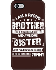 Proud Brother Phone Case thumbnail