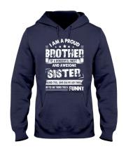 Proud Brother Hooded Sweatshirt thumbnail