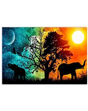 SUN AND  MOON  ELEPHANT 17x11 Poster front