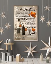 DAD AND DAUGHTER BASKETBALL 11x17 Poster lifestyle-holiday-poster-1
