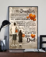 DAD AND DAUGHTER BASKETBALL 11x17 Poster lifestyle-poster-2