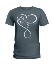 Paw Heartbeat Ladies T-Shirt front