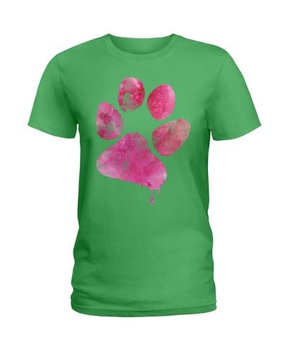 Love paw print T-shirt