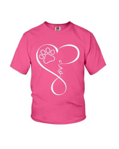 Paw Heartbeat Tshirt