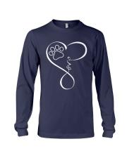Paw Heartbeat Tshirt Long Sleeve Tee front