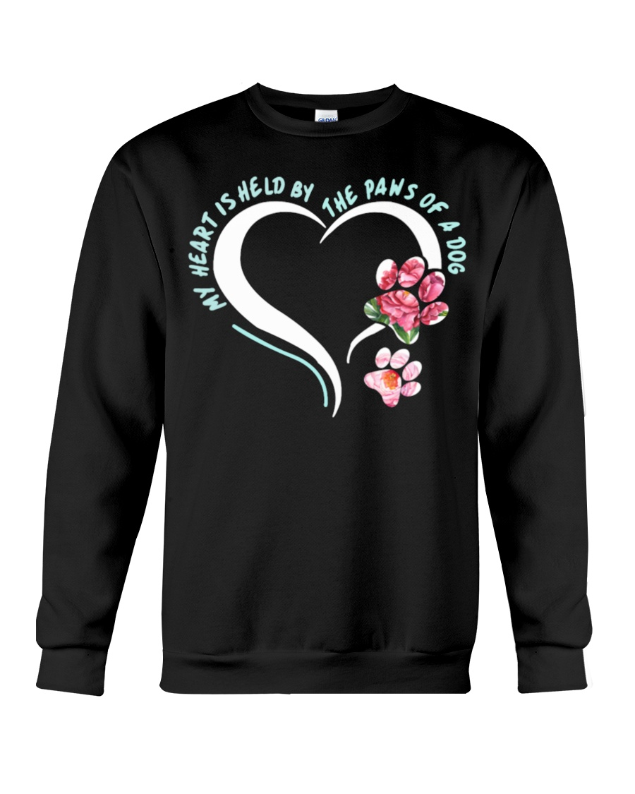 My Heart Is Held By The Paws Of A Dog Crewneck Sweatshirt