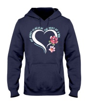 My Heart Is Held By The Paws Of A Dog Hooded Sweatshirt thumbnail