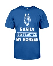 Easily Distracted By Horses Shirt Classic T-Shirt front