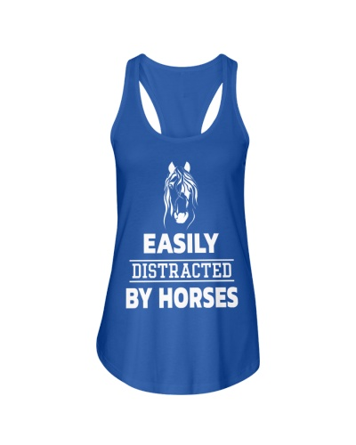Easily Distracted By Horses Shirt