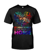 By The Paws Of A Horse Shirts Classic T-Shirt front