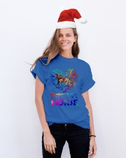 By The Paws Of A Horse Shirts Classic T-Shirt lifestyle-holiday-crewneck-front-1