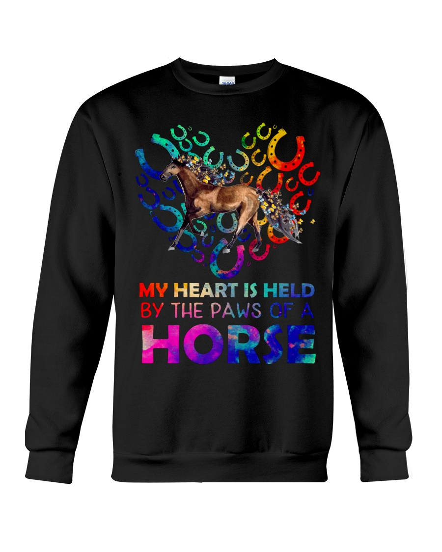 By The Paws Of A Horse Shirts Crewneck Sweatshirt