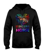 By The Paws Of A Horse Shirts Hooded Sweatshirt thumbnail