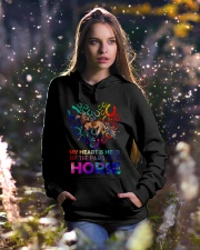 By The Paws Of A Horse Shirts Hooded Sweatshirt lifestyle-holiday-hoodie-front-5